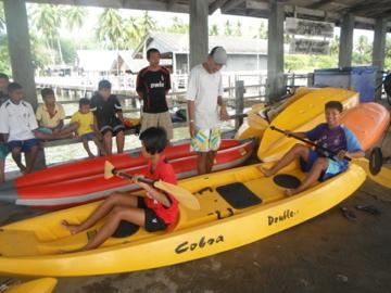 MAP kayak class