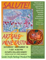 Art Sale and Wine Tasting